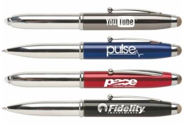 ad cetera T. Macy Triple Function pen