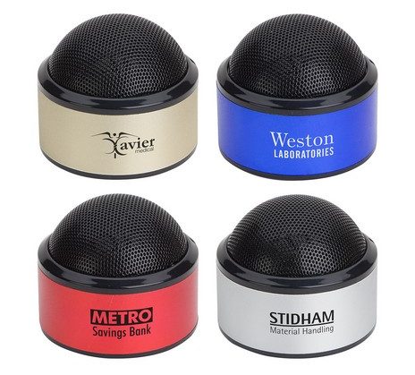 customized bluetooth wireless speakers in multiple colors
