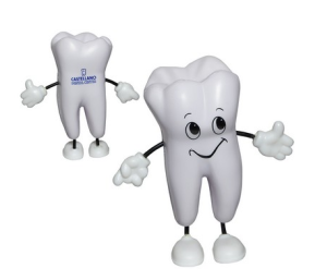 tooth shaped standing stress reliever